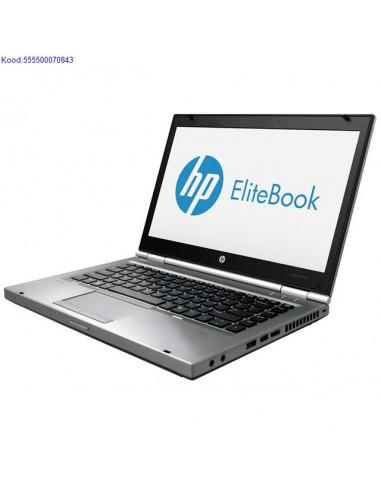 HP EliteBook 8470p SSD kõvakettaga...
