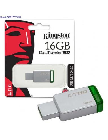 Mälupulk USB3.1 16GB Kingston...