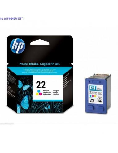 Tindikassett HP No22 Color Originaal 919
