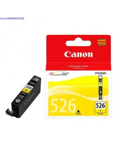 Tindikassett Canon CLI526Y Yellow Originaal 923