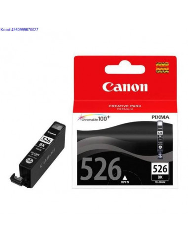 Tindikassett Canon CLI-526BK Black...