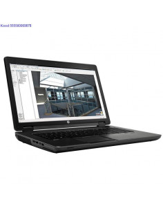HP ZBook 17 with SSD hard...