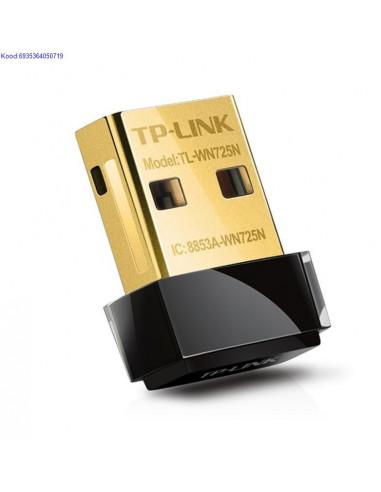 WiFi N Nano USB adapter TPLink TLWN725N 150Mbps 1021
