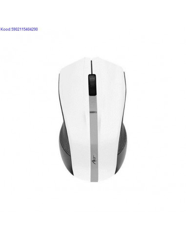 Wireless optical mouse ART AM-97 white