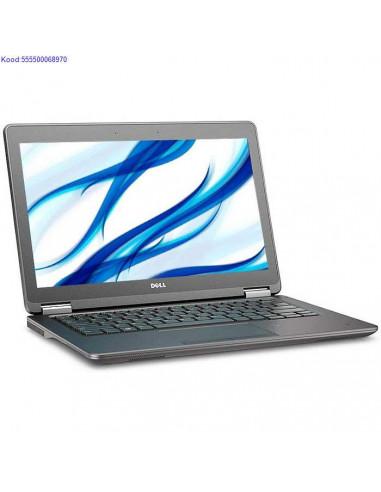 DELL Latitude E7250 SSD kvakettaga 1080