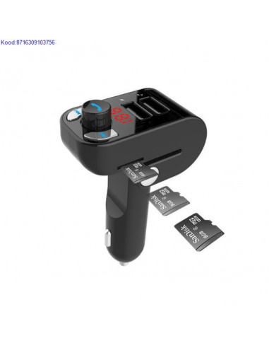 Bluetooth MP3 FM Transmitter/Pleier...