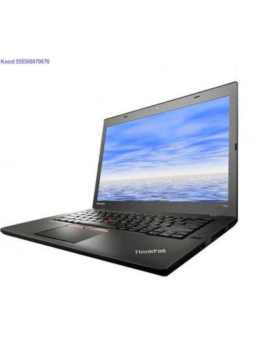 LENOVO ThinkPad T450 SSD kõvakettaga...