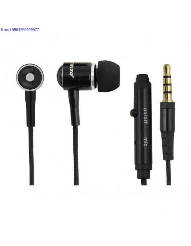 Krvaklapid mikrofoniga Esperanza EH162K mustad nbid 1161
