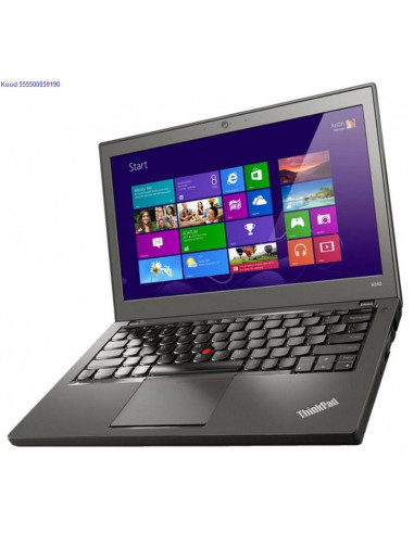 LENOVO ThinkPad X240 SSD kvakettaga 1170