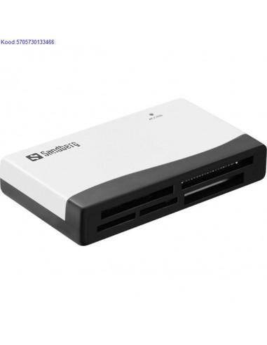Mlukaardi lugeja Sandberg USB20 1196