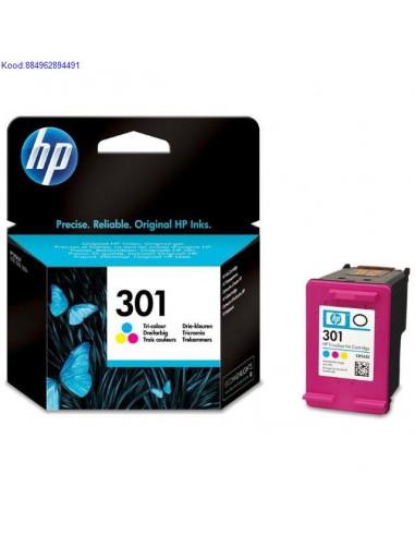 Цветной чернильный картридж HP № 301...