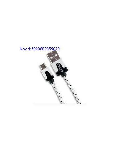 USB kaabel MaleA to MicroB Mediatech 2m 1242