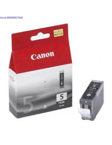 Ink Cartridge Canon PGI-5BK Black...