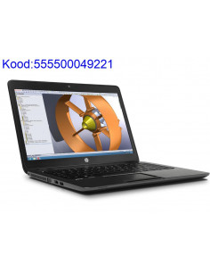 HP ZBook 14 with SSD hard...
