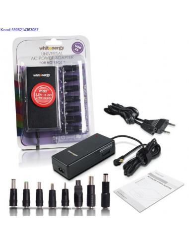 Universaalne toiteplokk slearvutile Whitenergy 70W 1524V USB 1339