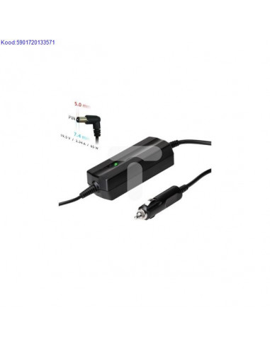 Car adapter for Dell laptop Akyga...