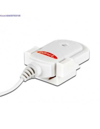 Mikrophone Ednet Clip 83010 white