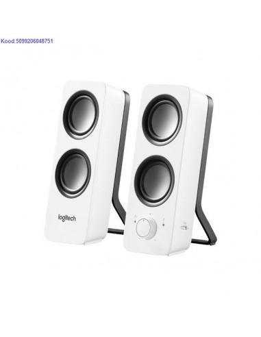 Kõlarid 2.0 Logitech Z200 10W valged