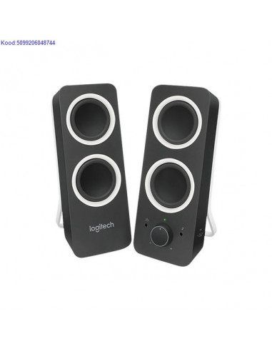 Speakers 2.0 Logitech Z200 10W black