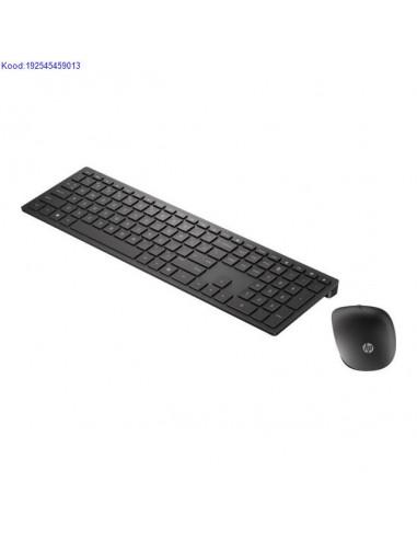 Juhtmevaba klaviatuur ja hiir HP 800 EST must 1475
