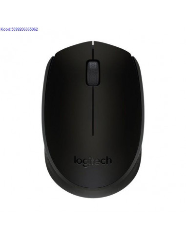 Wireless Logitech B170 Black Mouse