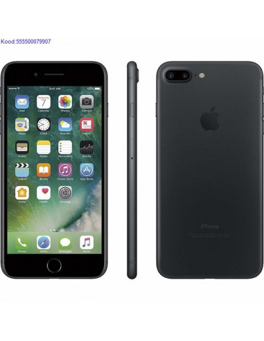 Apple iPhone 7 Plus 128GB Black A1784  1501