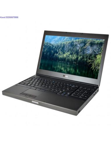 DELL Precision M4800 SSD kvakettaga 1506
