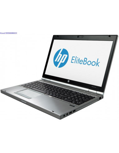 HP EliteBook 8570p SSD kvakettaga 1516
