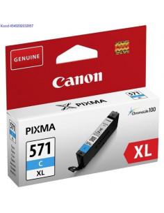 Tindikassett Canon CLI571C XL Cyan Originaal 1582
