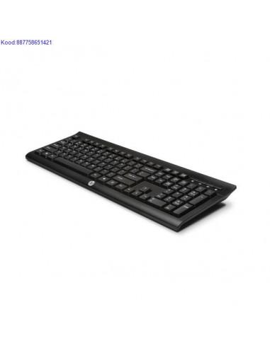 Juhtmevaba klaviatuur HP K2500 EST must 1584