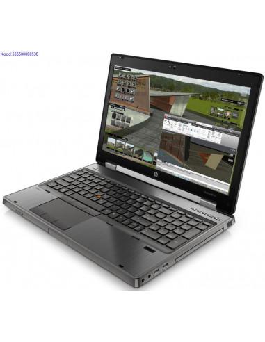 HP EliteBook 8570w SSD kvakettaga 1621