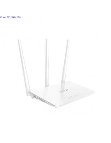 WiFi ruuter Tenda N300 F3 300Mbps 4porti 1650