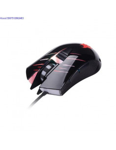 Optiline Gaming hiir Tracer Claw USB must 1653