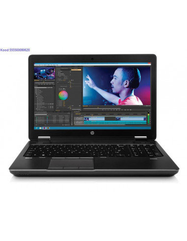HP ZBook 15 G2 SSD kvakettaga 1659