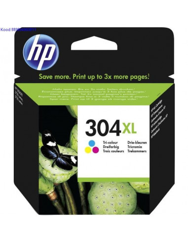 HP 304XL Color Ink Cartridge (Original)