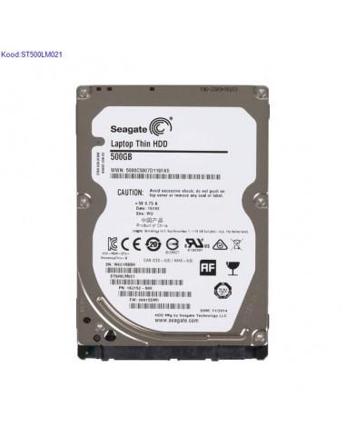 Kvaketas 25 Seagate Laptop Thin HDD ST500LM021 500GB SATA III kasutatud 1724