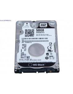 Kvaketas 25 Western Digital Black WD5000LPLX 500GB SATA III kasutatud 1726