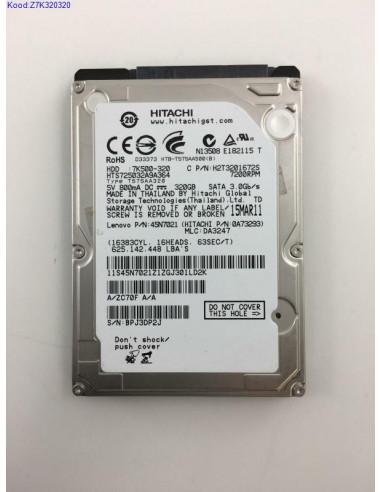 """Жесткий диск 2,5 """"Hitachi Z7K320320..."""