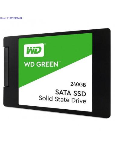 """SSD Western Digital Green 240GB 2,5""""..."""