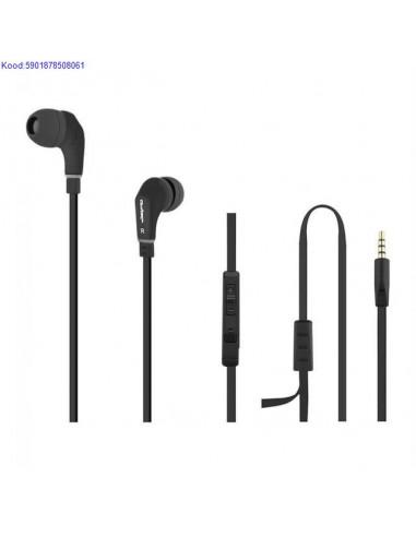 Headphones with Qoltec microphone...