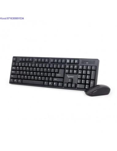 Juhtmevaba klaviatuur ja hiir Gembird...