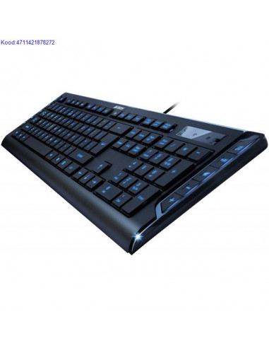 A4Tech KD-600L Keyboard with USB Blue...