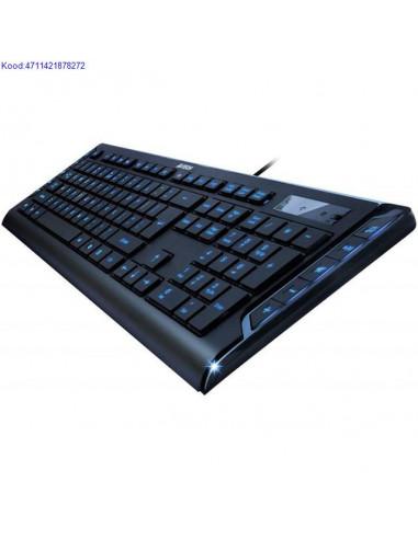 Klaviatuur A4Tech KD600L USB sinise LED valgustusega 1785