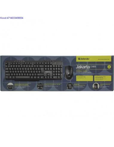 Комплект беспроводной клавиатуры и...