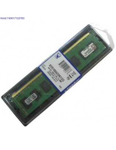 Mlu DDR3 2GB Kingston 1066MHz CL7 185