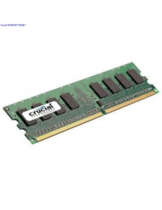 Mlu DDR2 1GB Crusial 800MHz CL6 186