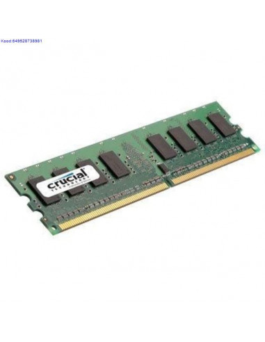 RAM DDR2 1GB Crusial 800MHz CL6
