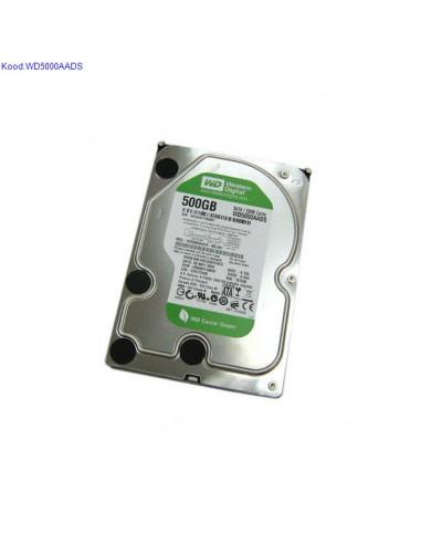 Kvaketas SATA II 500GB Western Digital Caviar Green WD5000AADS 190