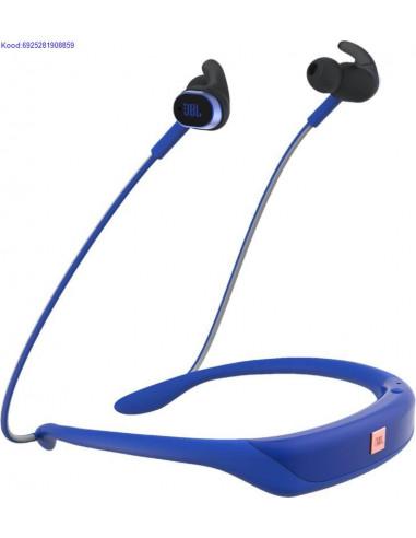 Bluetooth krvaklapid mikrofoniga JBL Reflect Response sinised kasutatud 1962