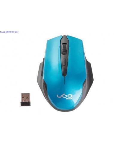 Juhtmevaba hiir Natec Ugo 12001800dpi mustsinine 2000